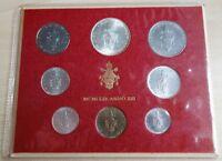 Vatikan KMS Kursmünzensatz 1975