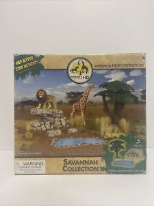 Nature's Wonders in HD Savanna Collection Tree, Cliff, Pond Diorama New Other