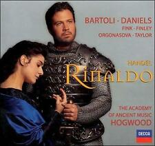 Handel Rinaldo (1685-1759) 3CDs 2000 Decca Hogwood (1711 Version) FREE USA SHIP