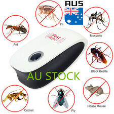 Electronic Ultrasonic Anti Pest Bug Mosquito Cockroach Mouse Control Repeller
