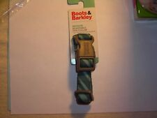 Boots & Barkley Medium dog collar - Green candy stripe