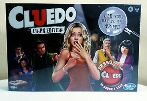 Cluedo Liars Edition Family Board Game Hasbro 2020 New And Sealed