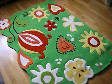 Kinderteppich Nelli Flora grün ca. 160/230cm Spielteppich Wissenbach