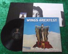 Paul McCartney & Wings LP Wings Greatest (mit Poster)