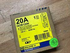 Square D Qob120K 20A Q0 Circuit Breaker Key Operated