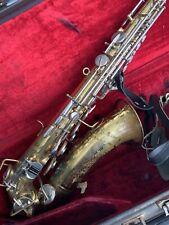 Vintage Buescher Aristocrat Savophone! No Reserve!