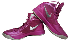 Men's Nike Air Zoom Hyperdunk Breast Cancer Awareness Size 9 454133-600 Used