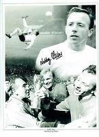 Nobby STILES Signed Autograph 16x12 England 1966 Montage Photo AFTAL COA