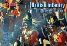 Mars Figures 1/72 Plastic Napoleonic War British Infantry Figures Set 72025 New!