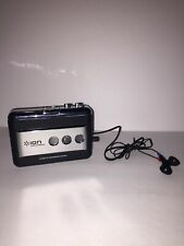 ION Tape Express Tape-To MP3 Converter Cassette Tape Player System