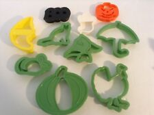 10 pcs plastic mould cookie candy cutter Fall Autumn Halloween Thanksgiving More