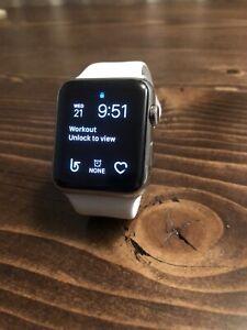 Apple Watch Series 1  Stainless steel 42mm Sapphire Screen