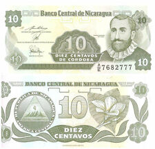 Rare world Currency Nicaragua  Banknotes 10 C 1991 P-169a.2  Rarts