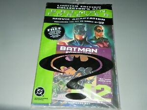 Batman Forever Comic book, Trading Cards, CD 1995 COMPLETE + SEALED