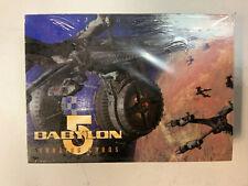 Babylon 5 Trading Cards Sealed Pack 1996 Warner Bros Gleer Skybox International