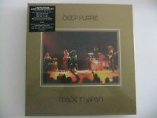 """DEEP PURPLE MADE IN JAPAN SUPER DELUXE LIMITED EDITION 4 CD+1 DVD+ VINILE 7"""""""