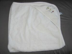 Vintage Gymboree Baby Bath Towel after Tub Time / Swimming Infant Duck Sailboat