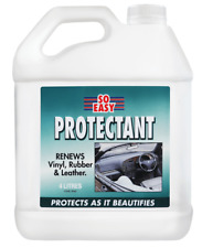 CRC SO EASY PROTECTANT 4L Renews Vinyl, Rubber & Leather, UV Protection