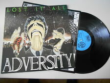 LP Metal Adversity - Lost it All	( Song) MANIC EARS / OIS