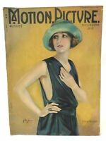Motion Picture Magazine August 1922 Hollywood Stars Entertainment