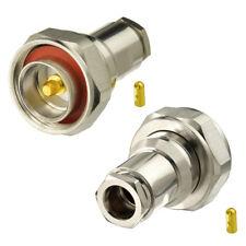2 Stück L29 7/16 DIN Stecker Non Solder Stecker für LMR-400 RG213 RG8 Kabel