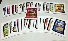 2019 Topps Wacky Packages Old School 8th Series 8 Complete White Set 31/31 NM