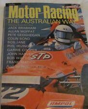 Motor Racing The Australian Way, Bryan Hanrahan 1974 HC/DJ