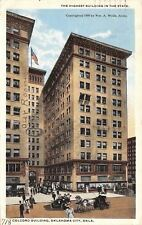 Oklahoma City Oklahoma~Colcord Building~Ed Foster Office~Our Rooms Circled~1916