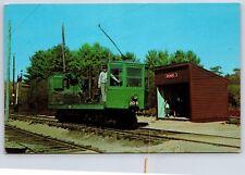 Boston Railway Car No 2016 Seashore Trolley Museum Kennebunkport, Maine Postcard