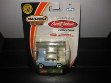 MATCHBOX COLLECTIBLES 1955 CHEVROLET BEL AIR 2 TONE   AS NEW ON CARD 1/64
