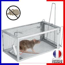 Piège à rats Ratière Souris Rongeurs Cage Nuisibles Grillage Trappe Mice