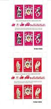ST. HELENA and ST. CHRISTOPHER. 25th Anniv. of Coronation. Minisheets. MNH.