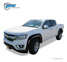Black Paintable Extension Fender Flares 15 18 Colorado For 61 7 Fleetside Only Fits 2017 Chevrolet