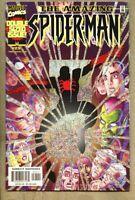 Amazing Spider-Man #25-2001 fn/vf 7.0 Giant-Size Romita Jr Foil Glitter Cover