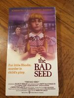 The Bad Seed VHS Brand New 1956 Nancy Kelly Horror Thriller Free Shipping