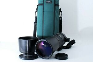 Exc w/Hood Sigma APO 170-500mm f/5-6.3 AF Telephoto Zoom Lens A Mount from Japan