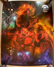 Black Label Society Autographed Poster