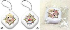 Fairy Tail Dragon Cry Puni Puni Arm Pillow Half w/ Ball Chain Lucy Heartfilia NW