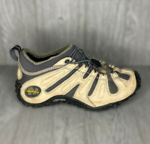 Merrell Womens Chameleon Stretch Hiking Shoes Taupe Bungee #53622 Size 8