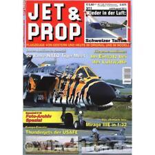 Jet & prop 3/11 avión modellbau boeing fuerza aérea Thunderjet Messerschmitt