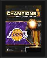 """Los Angeles Lakers 10.5"""" x 13"""" 2020 NBA Finals Champions Sublimated Plaque"""