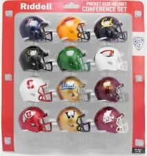 PAC 12 Conference Set Riddell Pocket Pro Speed Style 2020 NCAA Helmets