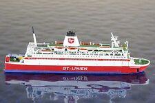 Travemünde (GT- Linien) Hersteller Navails Moguntia 56b ,1:1250 Schiffsmodell