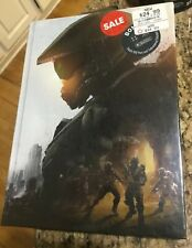 "HALO 5 Guardians Collector's Edition Strategy Guide; Hardback New Sealed ""Mint"""