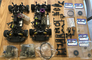 Hobao GPX4 Radio Controlled Cars - 2 Cars plus 3 Engines and Spares