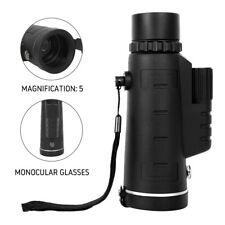 40X60 Night Vision Hunting Monocular Binoculars Optical Handheld Telescope USA