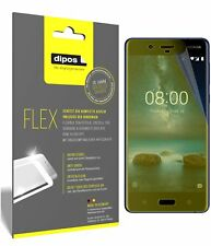 3x Nokia 8 Screen Protector Protective Film covers 100% dipos Flex
