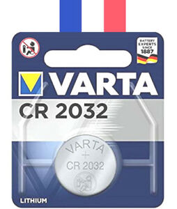 Varta Pile Bouton CR2032 Li-ion 3.6V CR 2032 Batterie Battery Accu cell Neuf