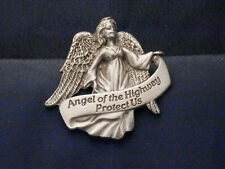 Pewter Angel of the Highway Visor Clip - KVC119