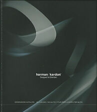 Harman/Kardon catalogue prospectus 2008-2009 HD 950 970 HK HKTS DVD HS AVR